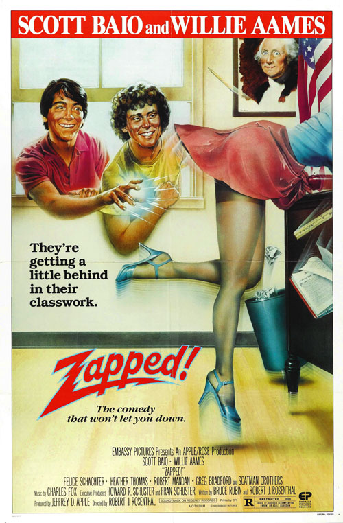 Us poster from the movie Zapped!
