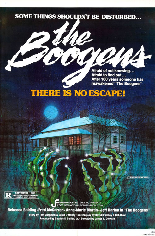 Us poster from the movie The Boogens
