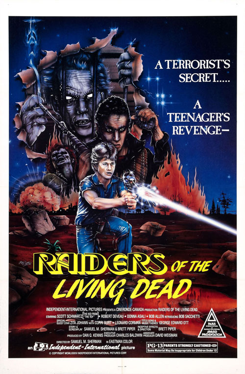 Us poster from the movie Raiders of the Living Dead