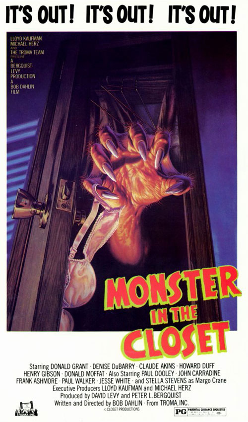 Us poster from the movie Monster in the Closet