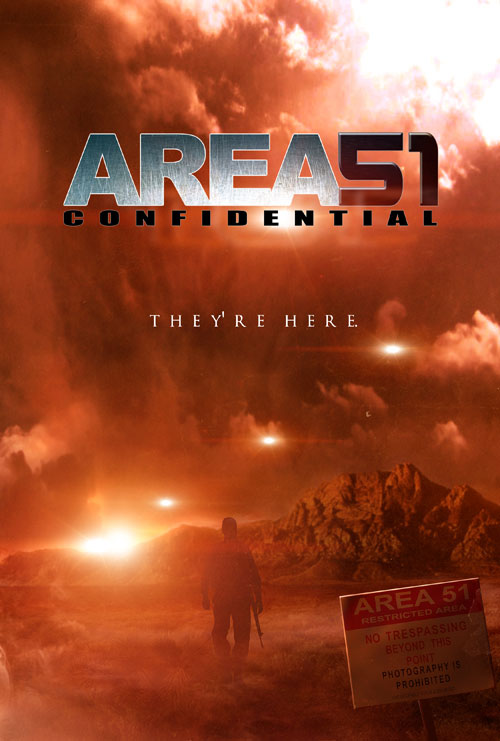 Us poster from the movie Area 51 Confidential