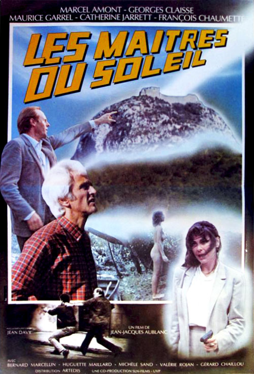 French poster from the movie Les maîtres du soleil