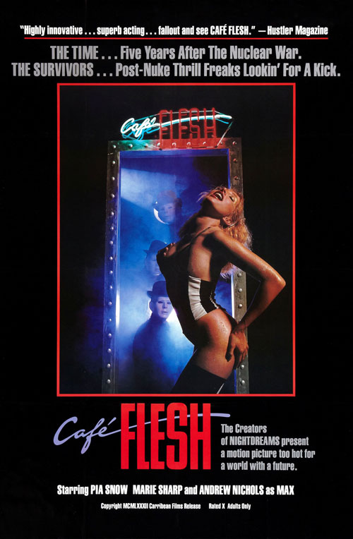 Us poster from the movie Café Flesh