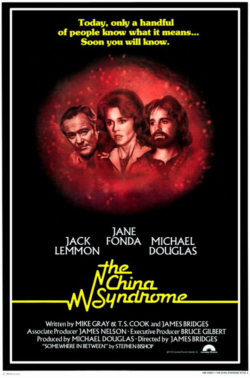 Us poster from the movie The China Syndrome