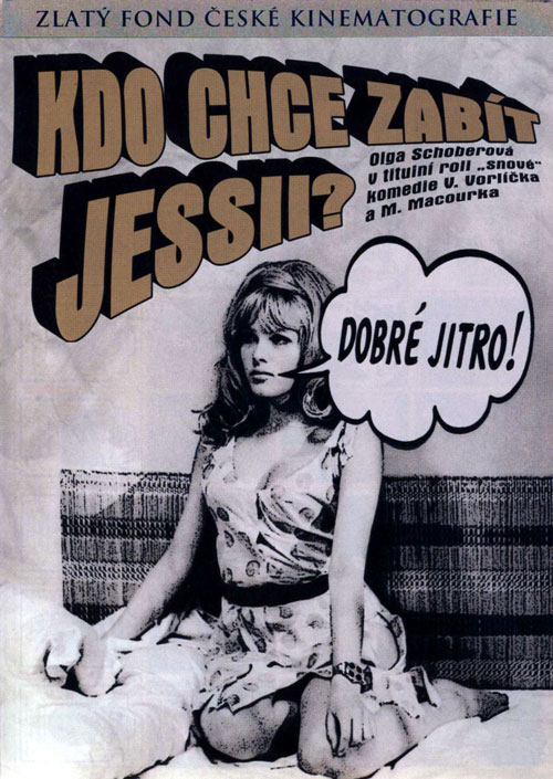 Czechoslovakian poster from the movie Who Wants to Kill Jessie? (Kdo chce zabít Jessii?)