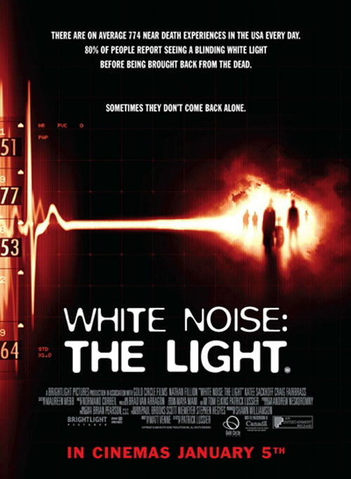 Us poster from the movie White Noise 2: The Light
