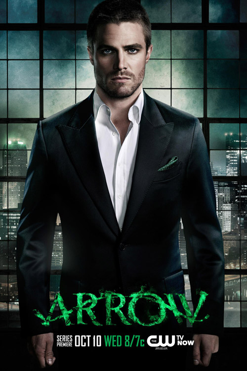 Affiche américaine de 'Arrow'