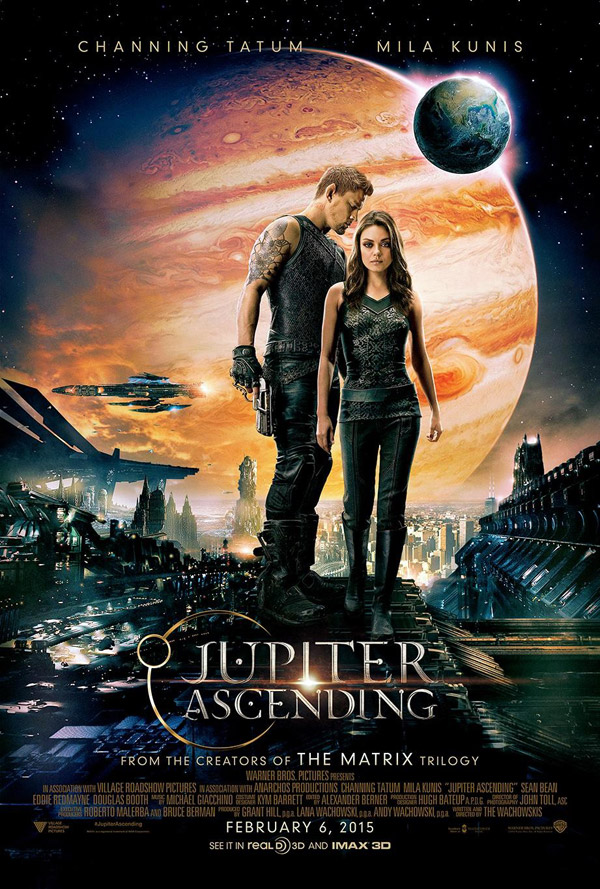 Us poster from the movie Jupiter Ascending