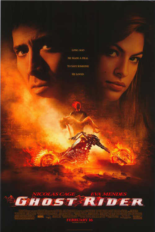 Us poster from the movie Ghost Rider