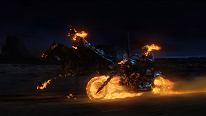 Photo de 'Ghost Rider' - ©2007 Columbia Pictures - Ghost Rider (Ghost Rider) - cliquez sur la photo pour la fermer
