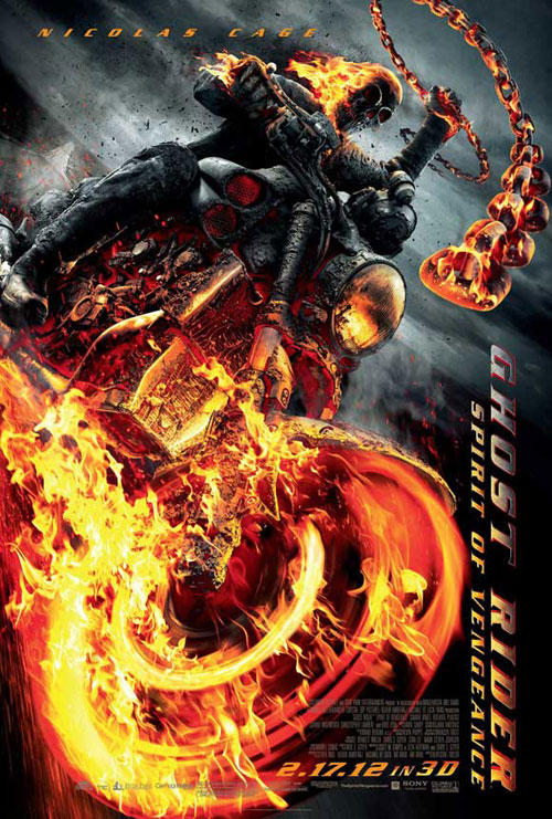 Us poster from the movie Ghost Rider: Spirit of Vengeance