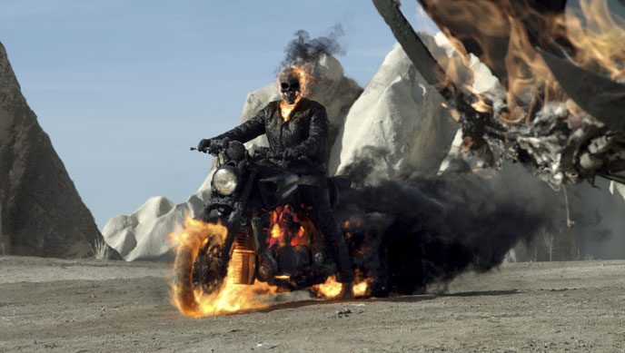 Photo de 'Ghost Rider 2 : l'esprit de vengeance' - ©2011 Columbia Pictures - Ghost Rider 2 : l'esprit de vengeance (Ghost Rider: Spirit of Vengeance) - cliquez sur la photo pour la fermer