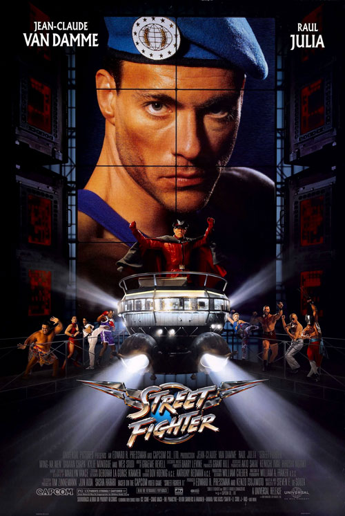 Us poster from the movie Street Fighter