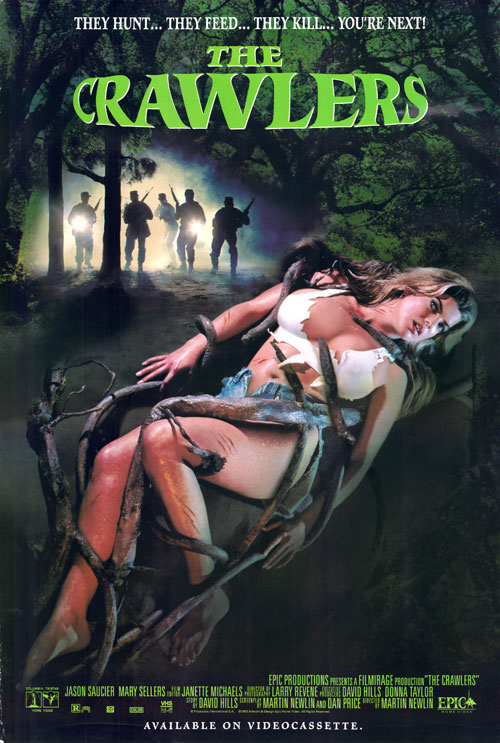Us poster from the movie The Crawlers (Contamination .7)