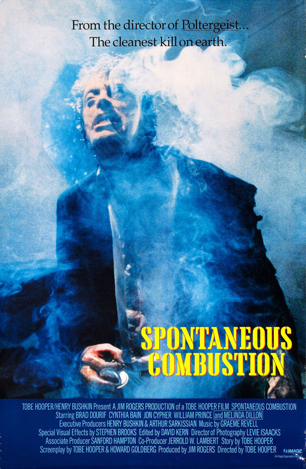 Us poster from the movie Spontaneous Combustion