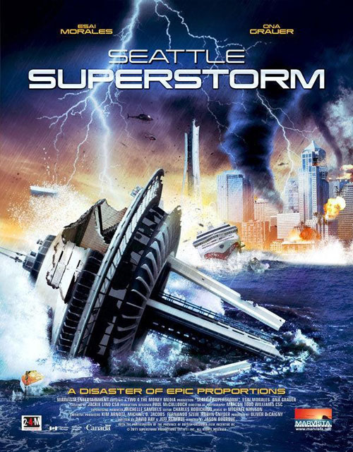 Us artwork from the TV movie Seattle Superstorm