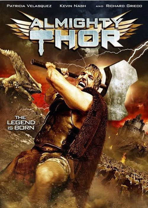 Us artwork from the TV movie Almighty Thor