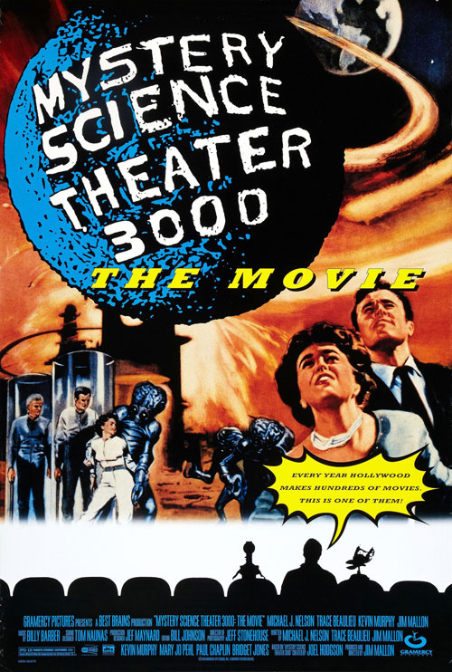 Us poster from the movie Mystery Science Theater 3000: The Movie