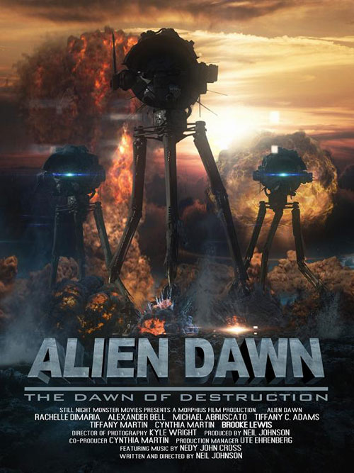Us poster from the movie Alien Dawn