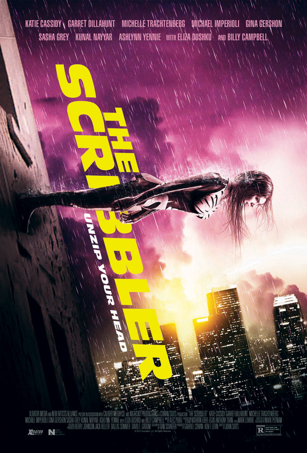 Unknown poster from the movie The Scribbler