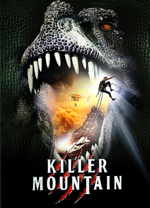 French poster from the TV movie Killer Mountain