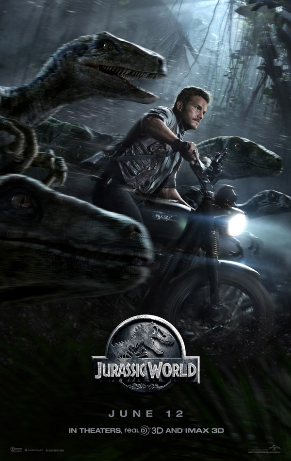 Us poster from the movie Jurassic World