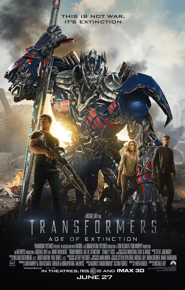 Us poster from the movie Transformers: Age of Extinction