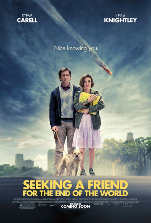 Us poster from the movie Seeking a Friend for the End of the World