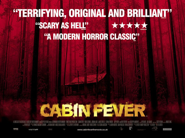 Cabin Fever 2002 Movie Poster 3 Scifi Movies