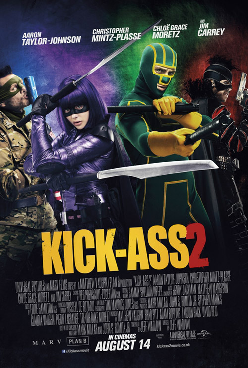 Us poster from the movie Kick-Ass 2