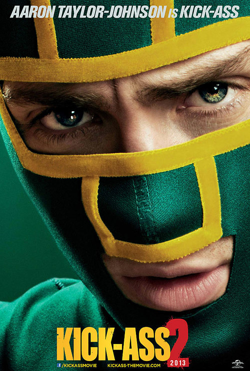 Affiche américaine de 'Kick-Ass 2'