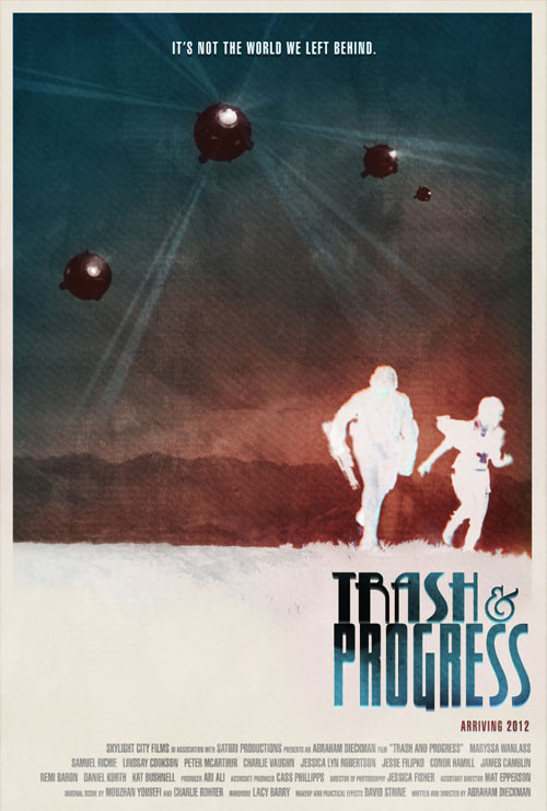 Us poster from the movie Trash and Progress