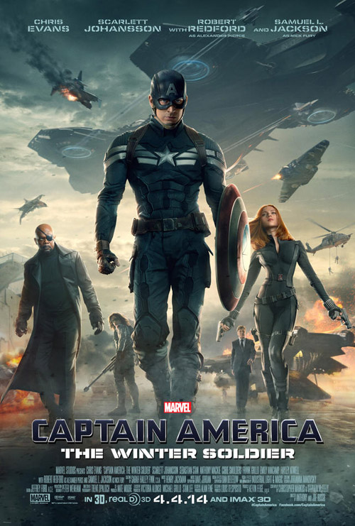Us poster from the movie Captain America: The Winter Soldier