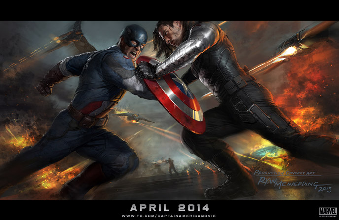 Photo de 'Captain America : le soldat de l'hiver' - ©2013 MarvelConcept Art - Captain America : le soldat de l'hiver (Captain America: The Winter Soldier) - cliquez sur la photo pour la fermer