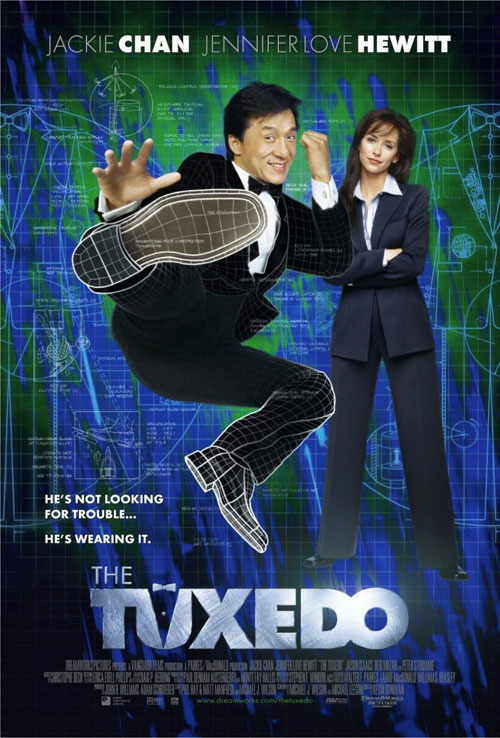 Us poster from the movie The Tuxedo