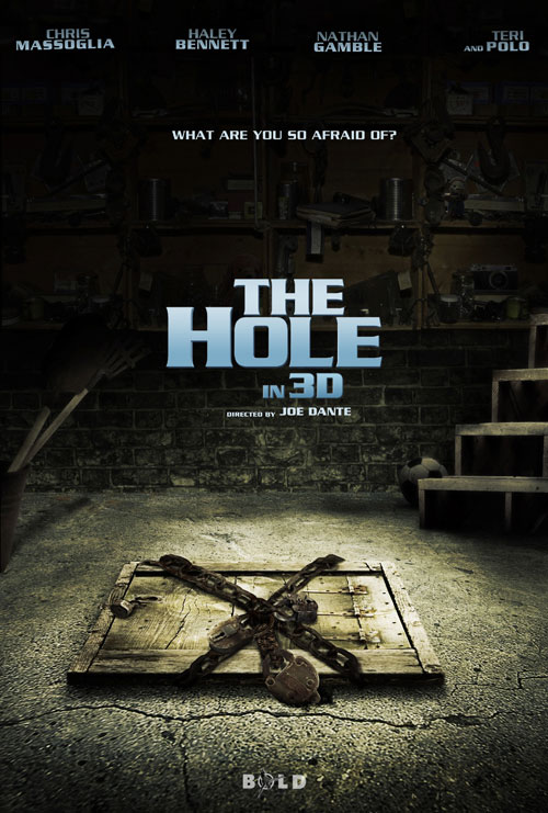 Affiche américaine de 'The Hole'