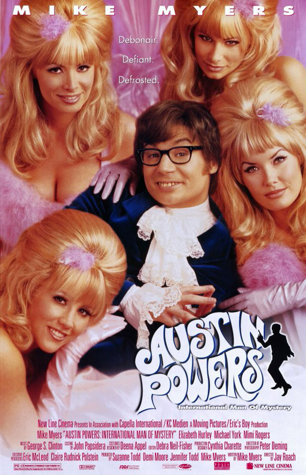 Us poster from the movie Austin Powers: International Man of Mystery