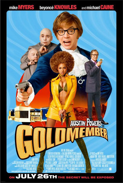 Us poster from the movie Austin Powers in Goldmember