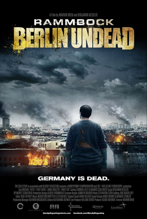 Us poster from the movie Rammbock: Berlin Undead