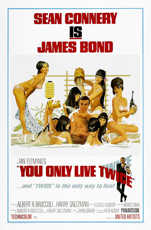 Us poster from the movie You Only Live Twice