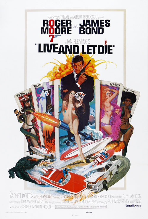 Us poster from the movie Live and Let Die