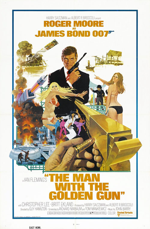 Us poster from the movie The Man with the Golden Gun