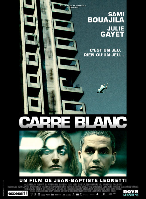 French poster from the movie Carré blanc