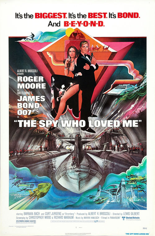 Us poster from the movie The Spy Who Loved Me