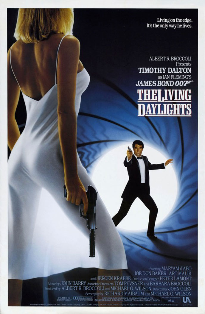 Us poster from the movie The Living Daylights