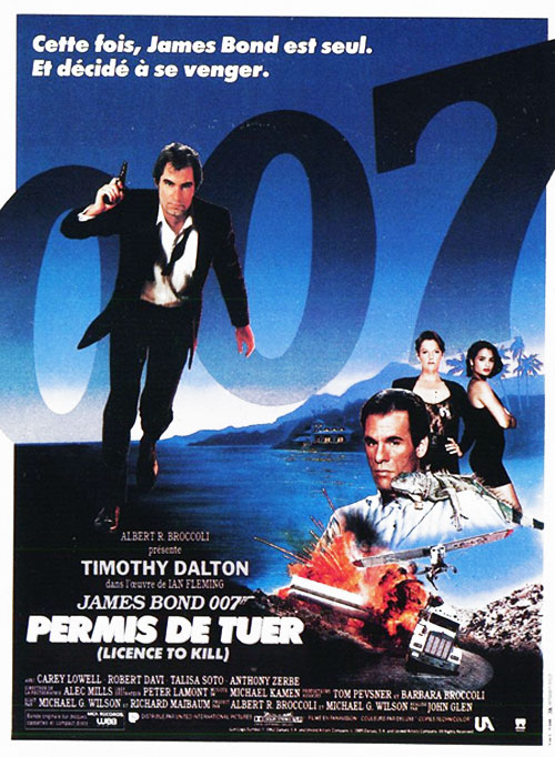 Licence to Kill (1989) movie poster #8 - SciFi-Movies