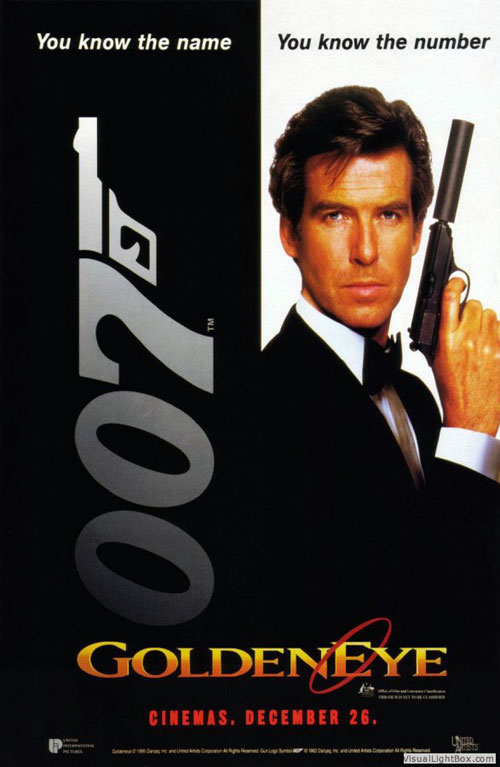 Unknown poster from  GoldenEye  - click on the poster to close itGoldeneye Movie Poster