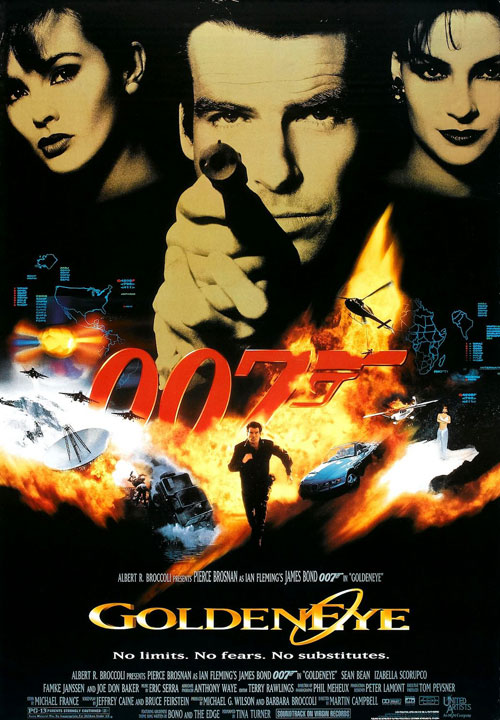 Us poster from the movie GoldenEye
