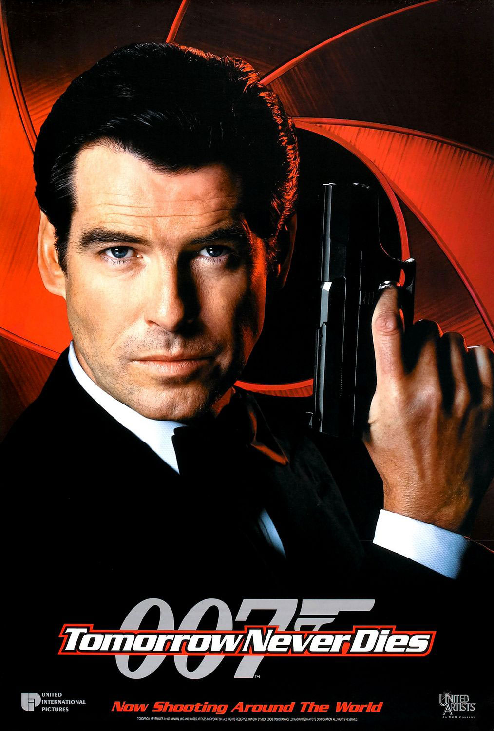 Tomorrow Never Dies (1997) movie poster #2 - SciFi-Movies