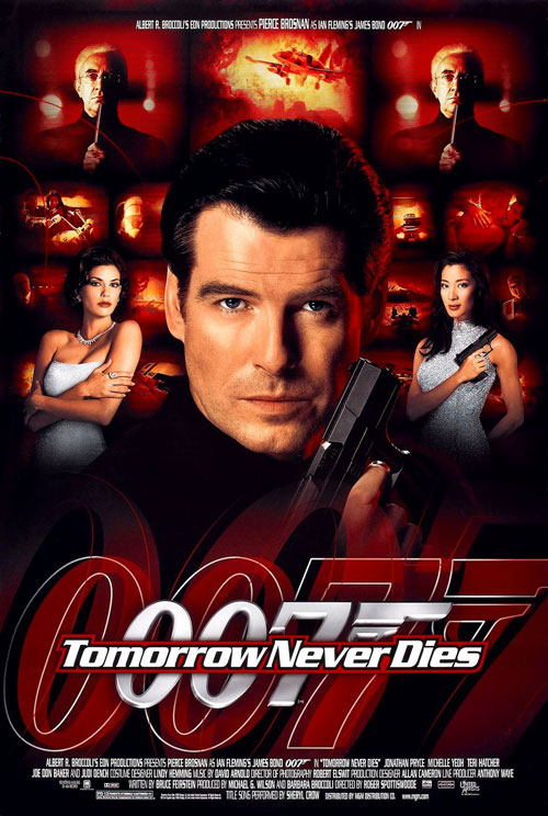 Us poster from the movie Tomorrow Never Dies